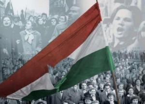 Lyukas-zászló-Az-1956-os-kétharmad-szimbóluma-a-lyukas-zászló-volt-napjaink-kétharmadáé-a-Nem-leszünk-gyarmat-feliratú-molinó