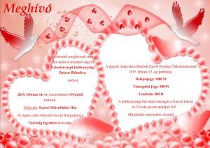 Valentin-napi bál plakát végleges