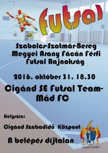 2016_10_31_cigánd_Cigánd SE Futsal Team